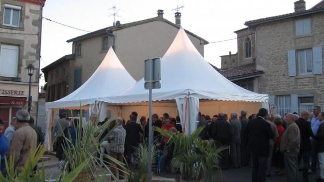 Inauguration de la place Jean Jaures