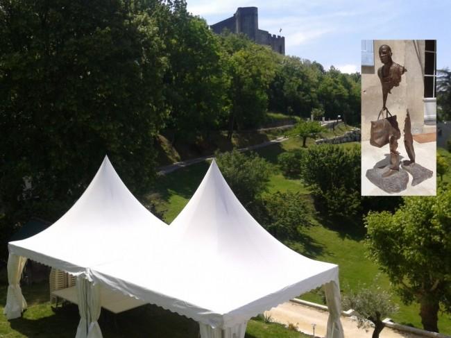 Location de chapiteaux dans la Drôme