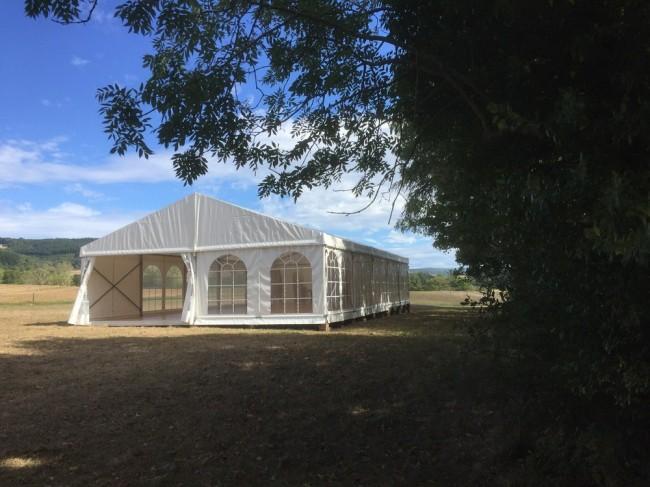 Location de chapiteau pour mariage