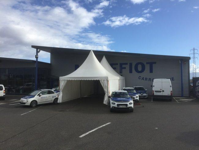 Location de chapiteau  soirée de soutient au Rallye Monte Carlo 2018
