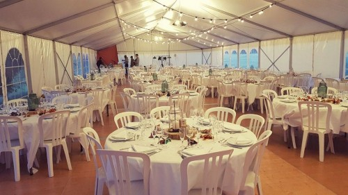 Location de chapiteau – Réception de mariage