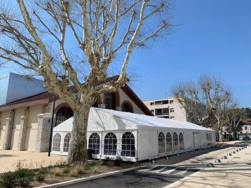 Location chapiteau parquet dans l'Isère